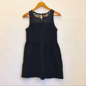 Anthropologie Monteau Illusion Neckline Dress